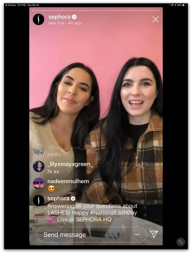 Live no Instagram - Um recurso que te aproxima do seu público