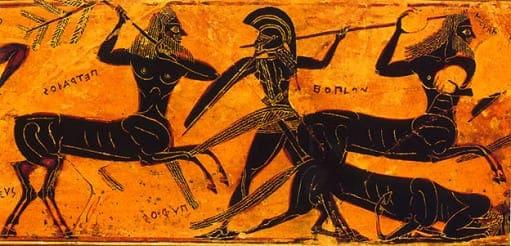 Centauro - origem do migo, representações e principal figura