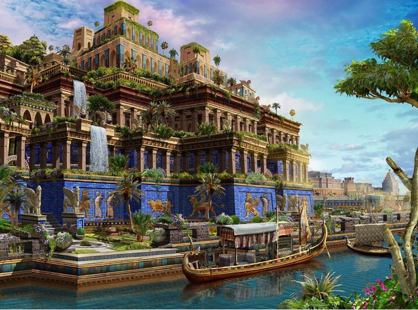Jardins suspensos da Babilônia - o que foram e porque foram criados