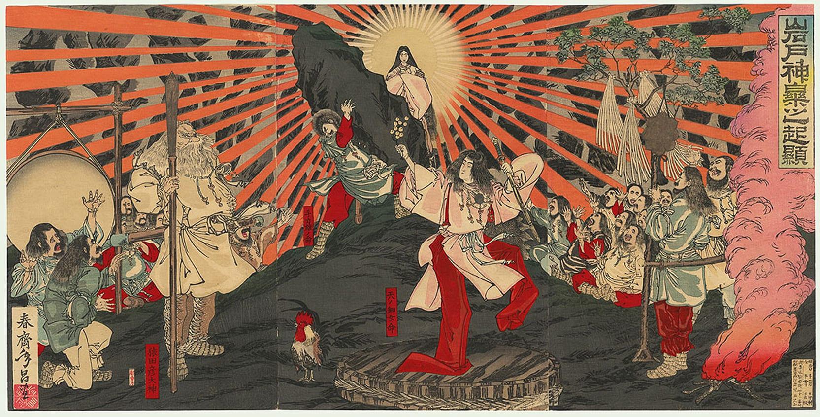 Mitologia japonesa - Origem, versões e principais deuses