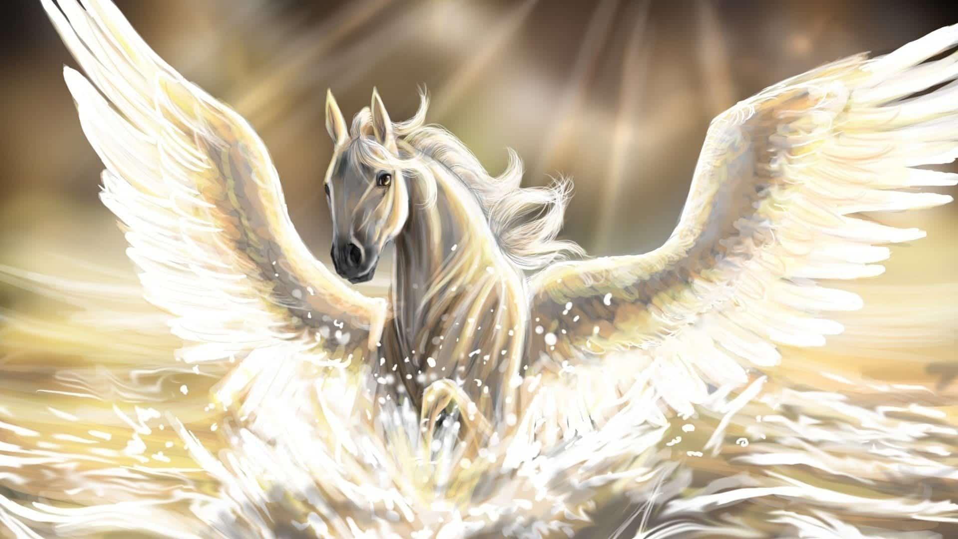 Pégaso na mitologia grega - Origem, história e simbolismo