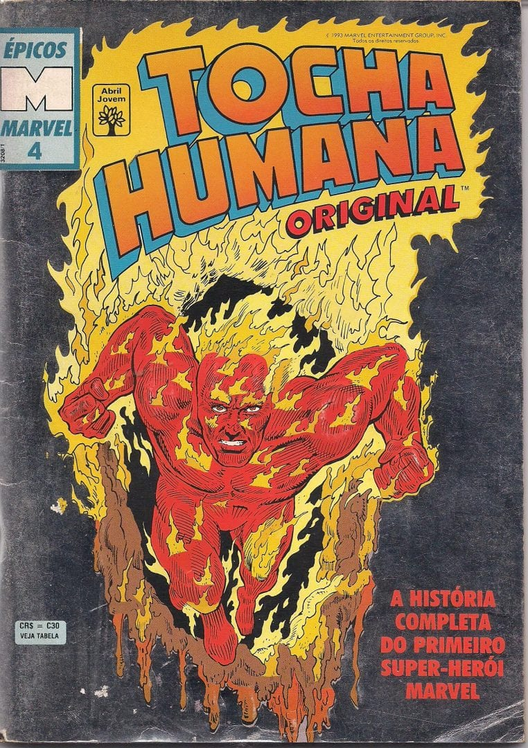 Tocha Humana - Origem, traje, poderes e curiosidades