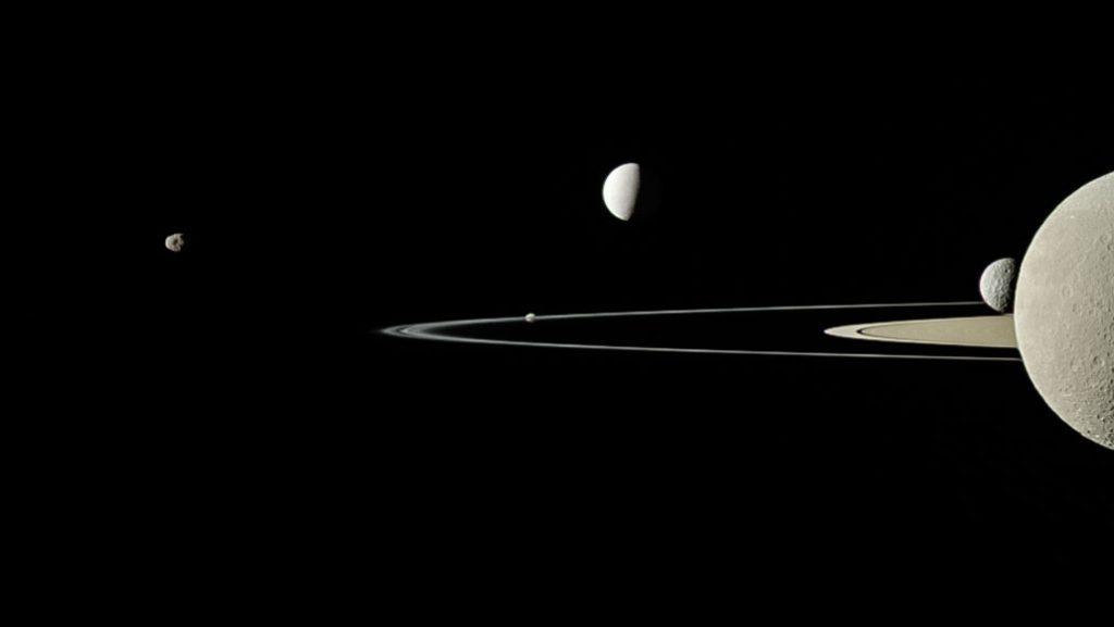 Luas de Saturno – Quantas são, novas descobertas e principais satélites