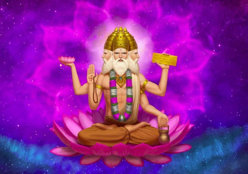 Deus Brahma - a história do deus hindu responsável pela criação