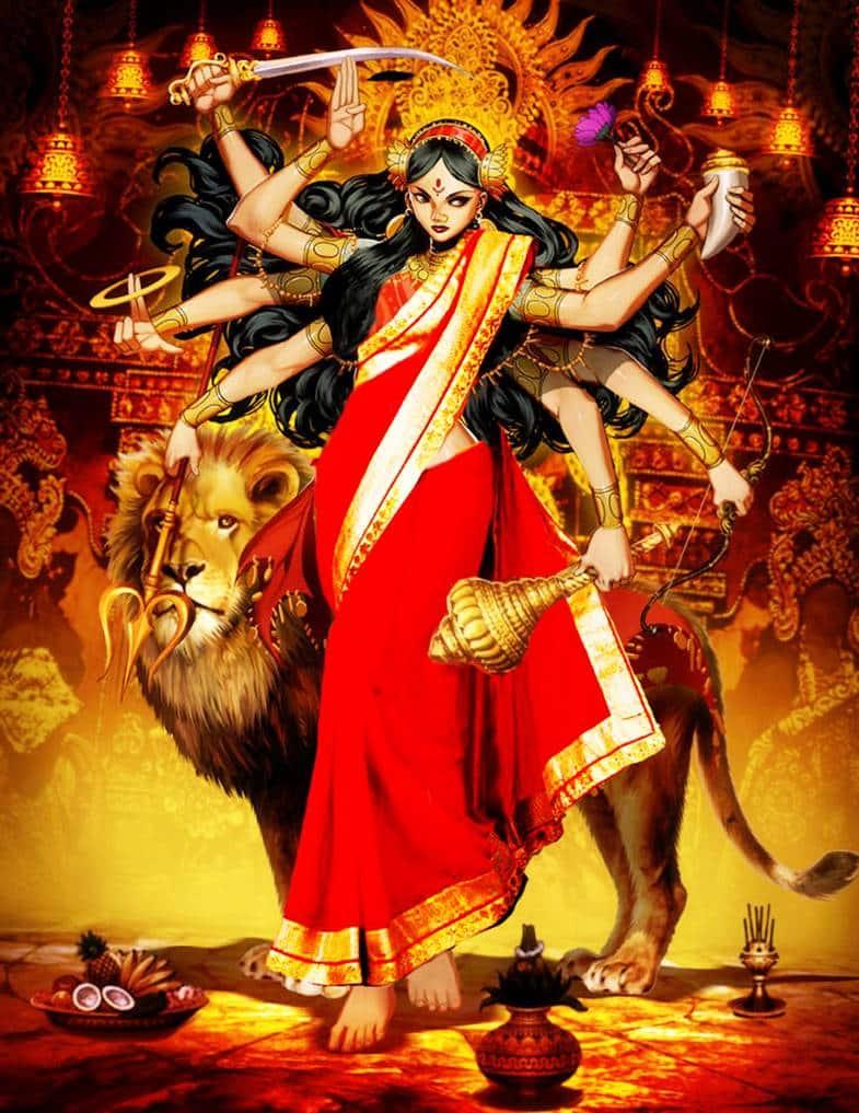 Durga - Origem e história da deusa do inacessível e do invencível