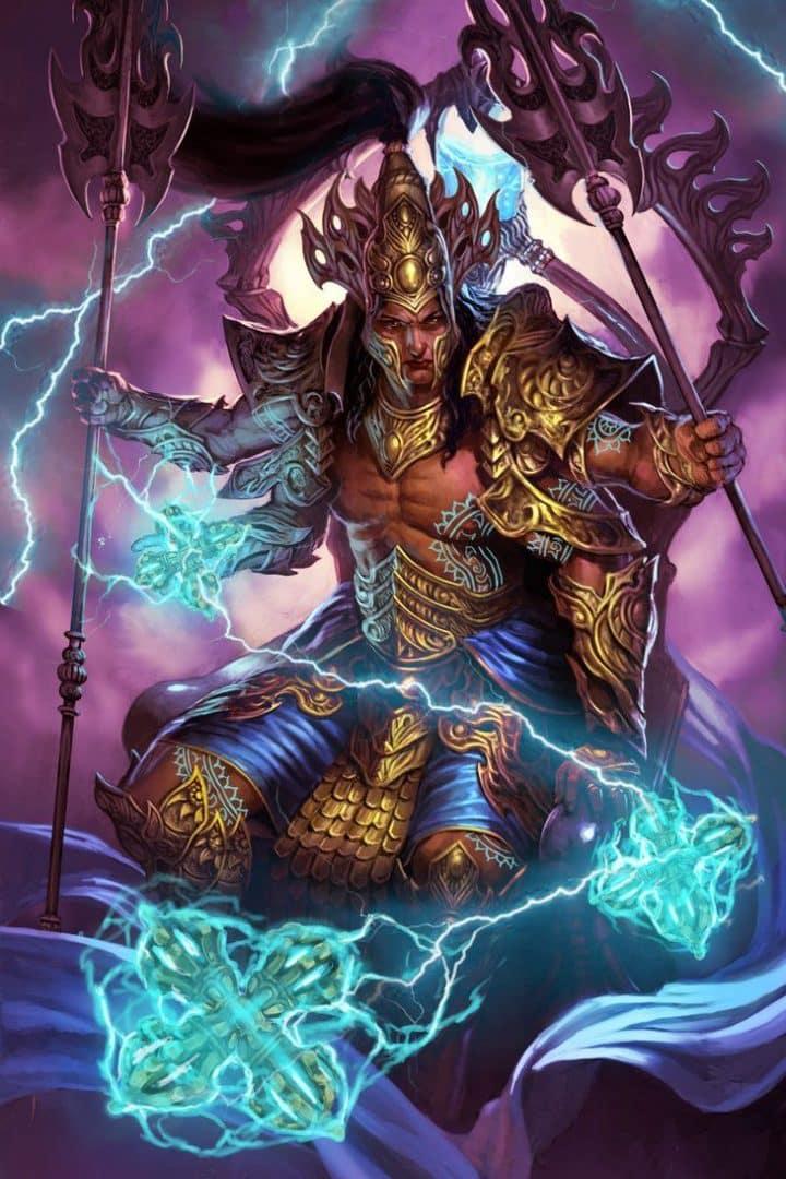 Indra - Conheça a história do deus do ar e das estações