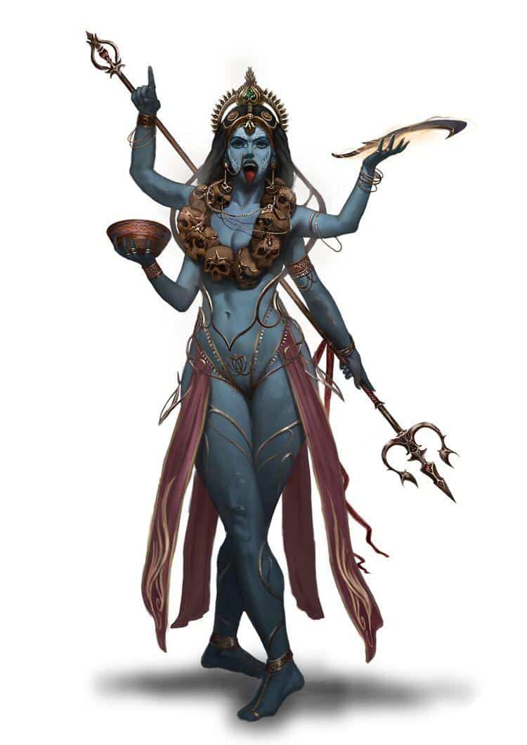 Kali - Conheça a história da deusa da destruição e do renascimento