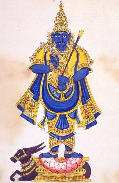 Yama- História do deus hindu da morte