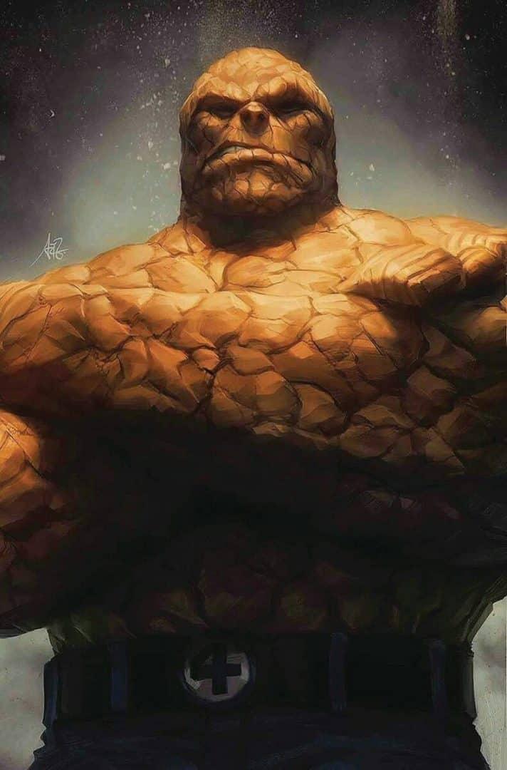 Coisa - Conheça a história do homem de pedra do Quarteto Fantástico