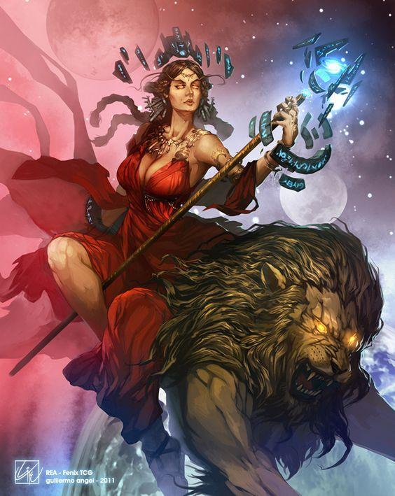 Divindade considera a mãe dos deuses e deusas gregas