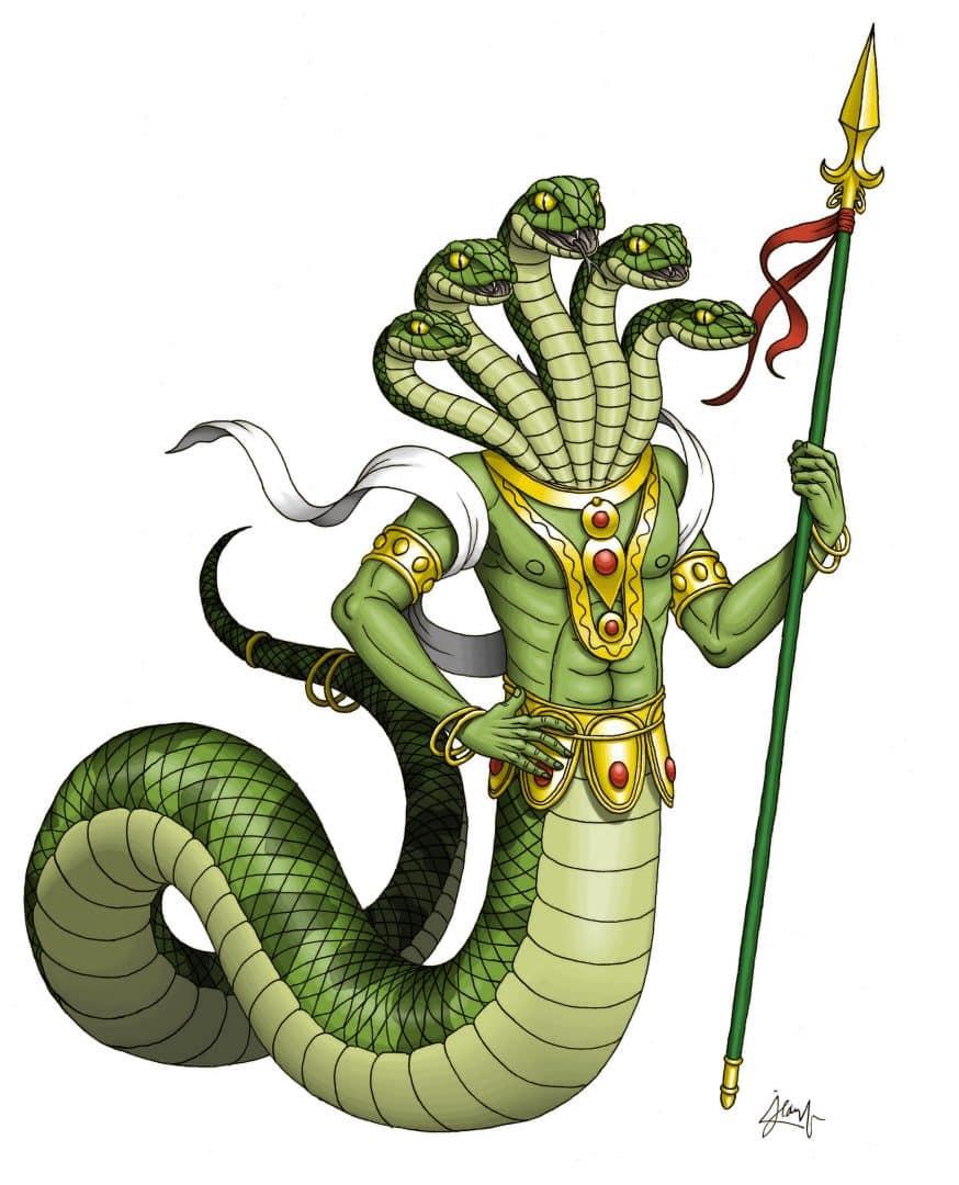 Naga, quem é a semi-divindade que é parte serpente e parte humano?