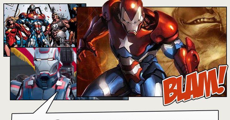 Patriota de Ferro – História e curiosidades sobre o herói da Marvel