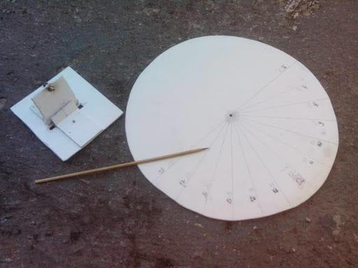 Relógio de sol - origem, como funciona e como construir um