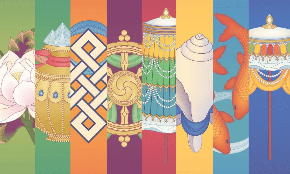 Símbolos budistas – Conheça o significado de cada um deles