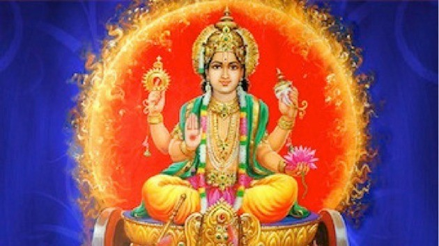 Surya- história e características do deus hindu do sol