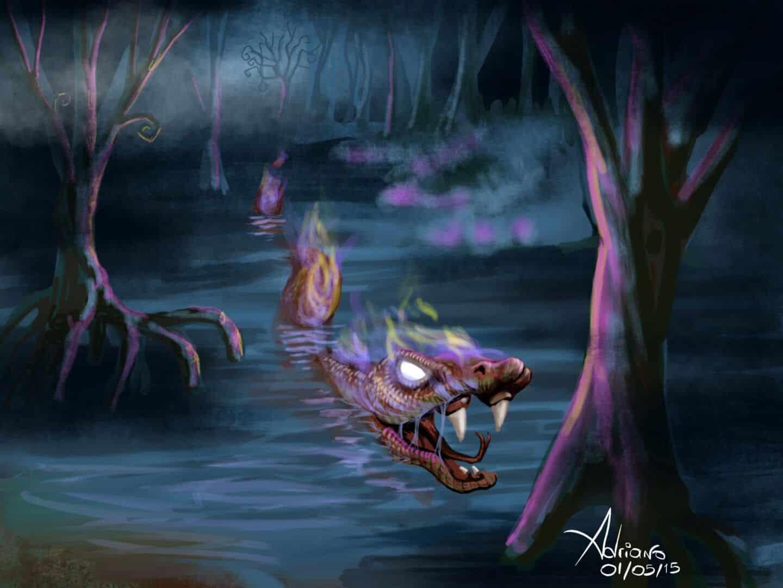 Lenda do Boitatá - A história da cobra de fogo que protege florestas