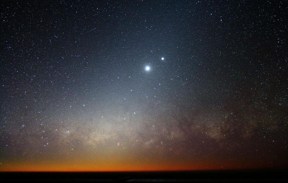 Planetas que brilham – Causas e diferenças para com as estrela