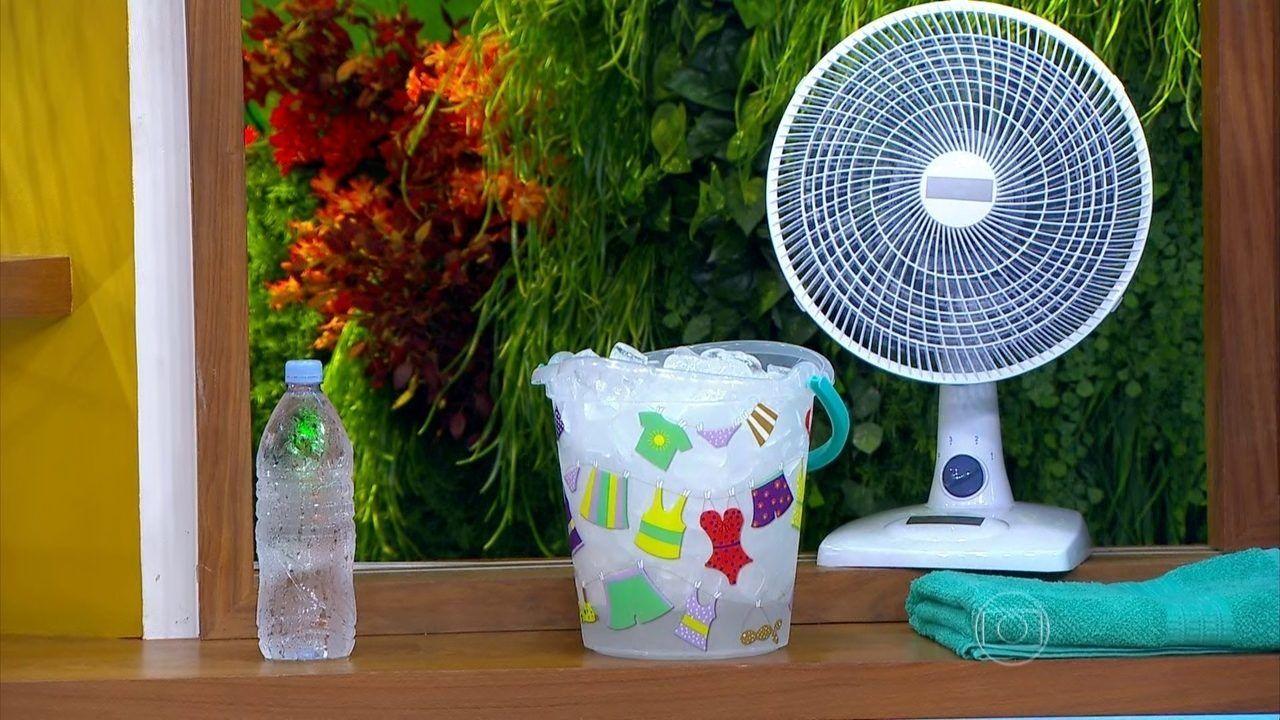 Se refrescar sem ar condicionado - Diferentes formas de se livrar do calor