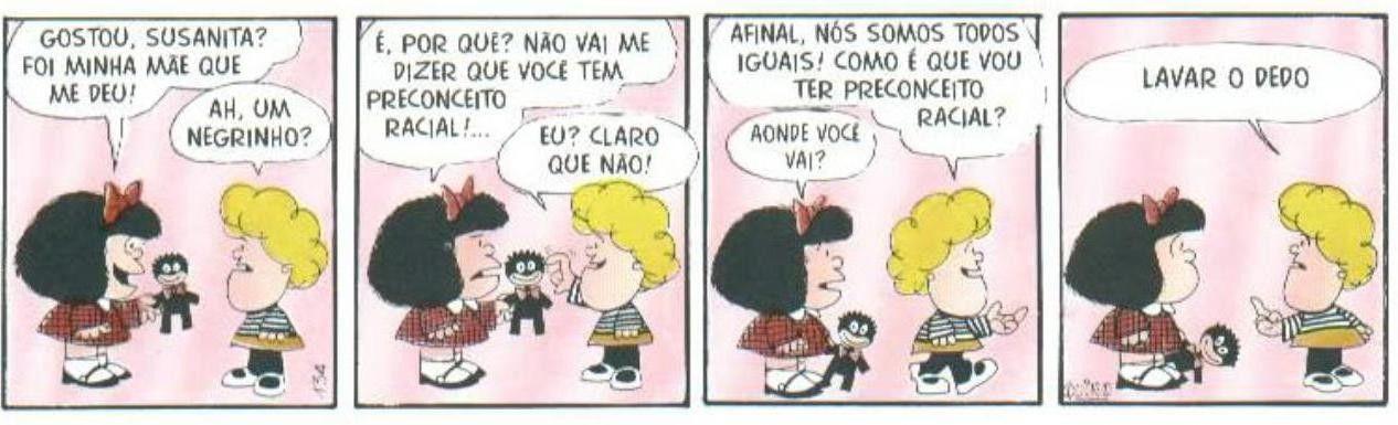 Tirinhas da Mafalda -