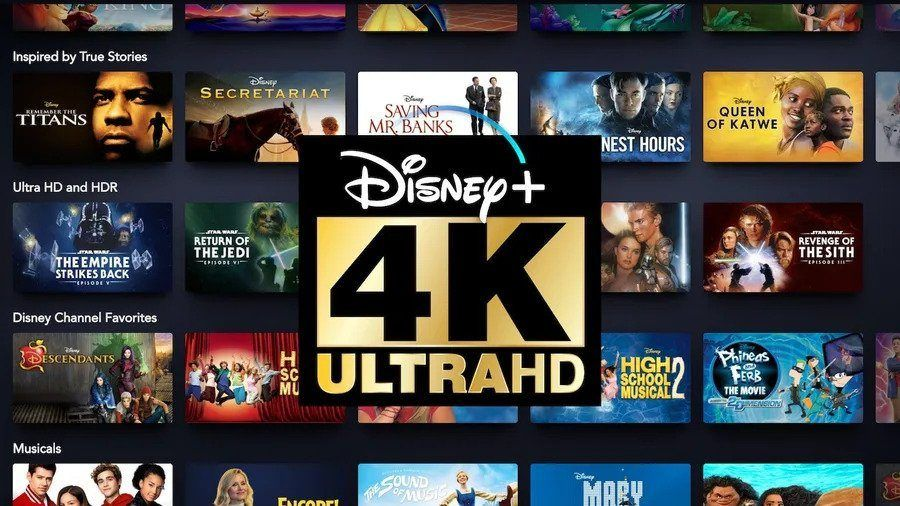 Disney Plus 4k