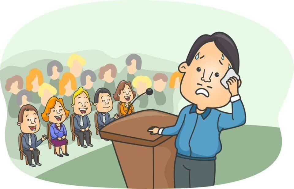 Medo de falar em público – Causas, consequências e como tratar