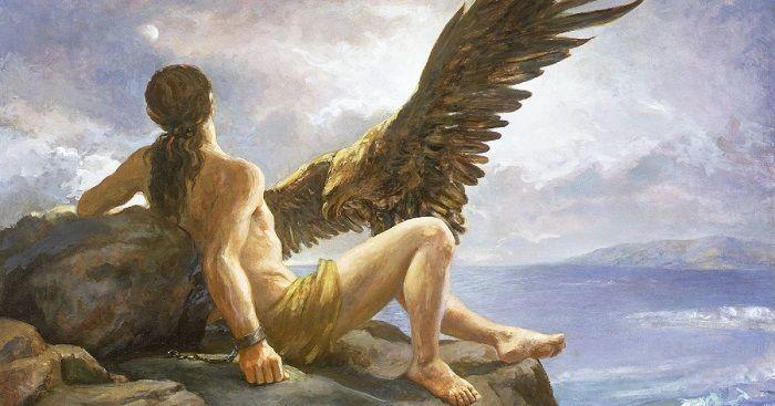 prometeu herói grego