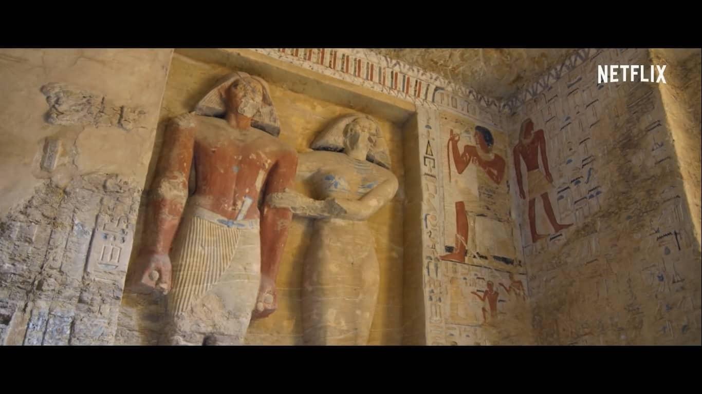 Necrópole egípcia