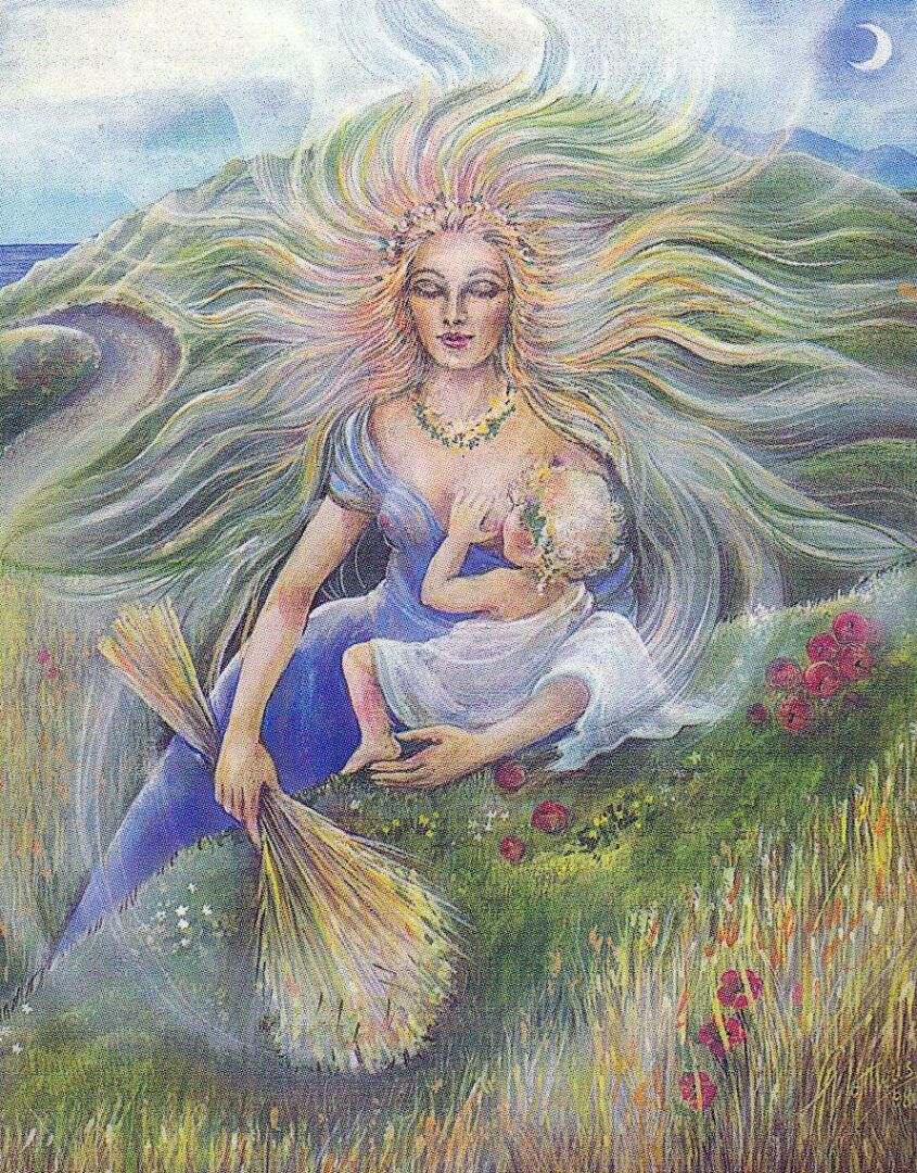 Deméter - Quem foi a deusa da agricultura na mitologia grega