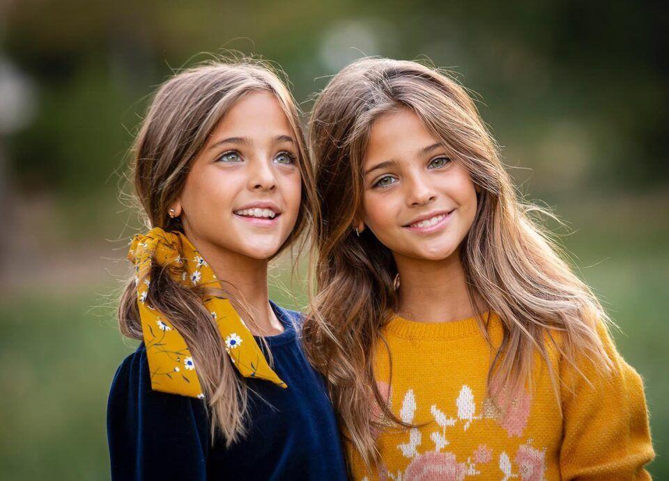 Gêmeas mais bonitas do mundo – Conheça Ava e Leah