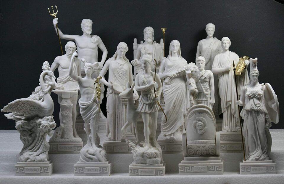 Deuses gregos – Dos deuses primordiais até o fim da mitologia na Grécia