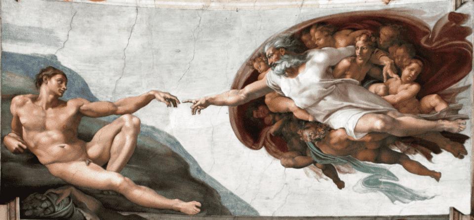 A Criação de Adão – Origem e história da obra de Michelangelo