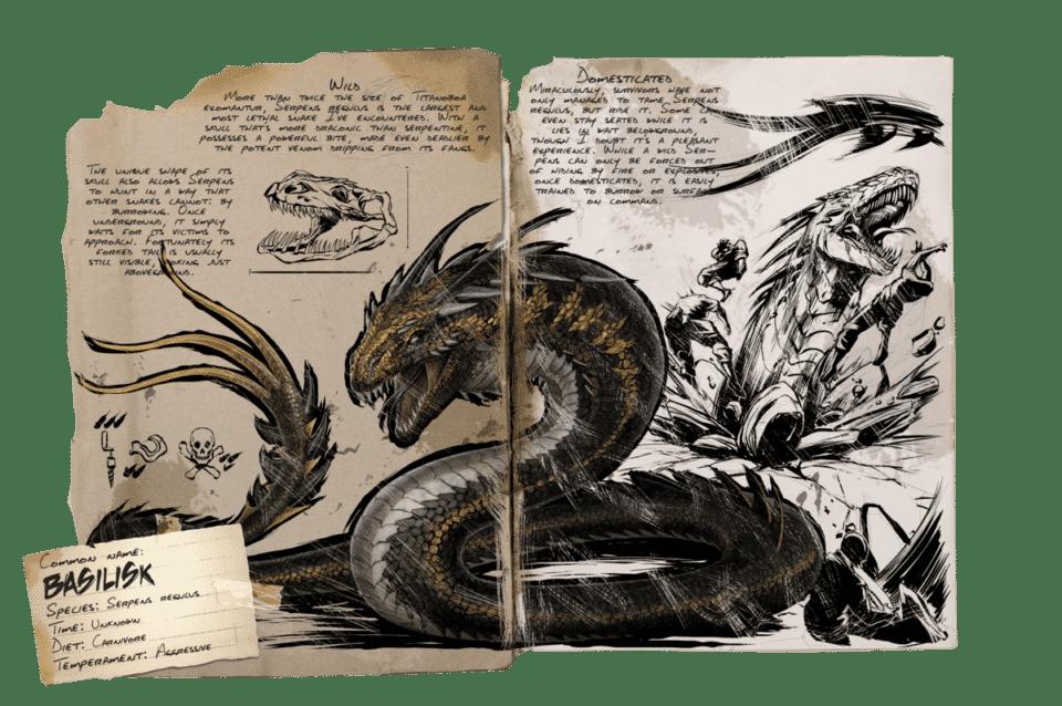Basilisco – Origem do animal na mitologia e na vida real