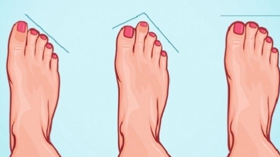Formato dos pés – O que ele conta sobre a sua personalidade