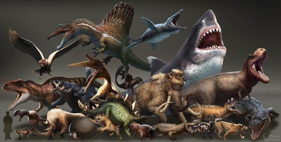 Animais pré-históricos – Criaturas mais fascinantes que já existiram