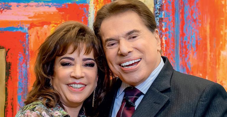 Fotografia da atual esposa do SIlvio Santos, para ilustração do item