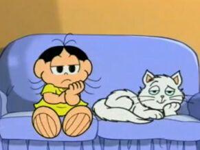Fotografia de uma cena das animações de Turma da Mônica para ilustração do item