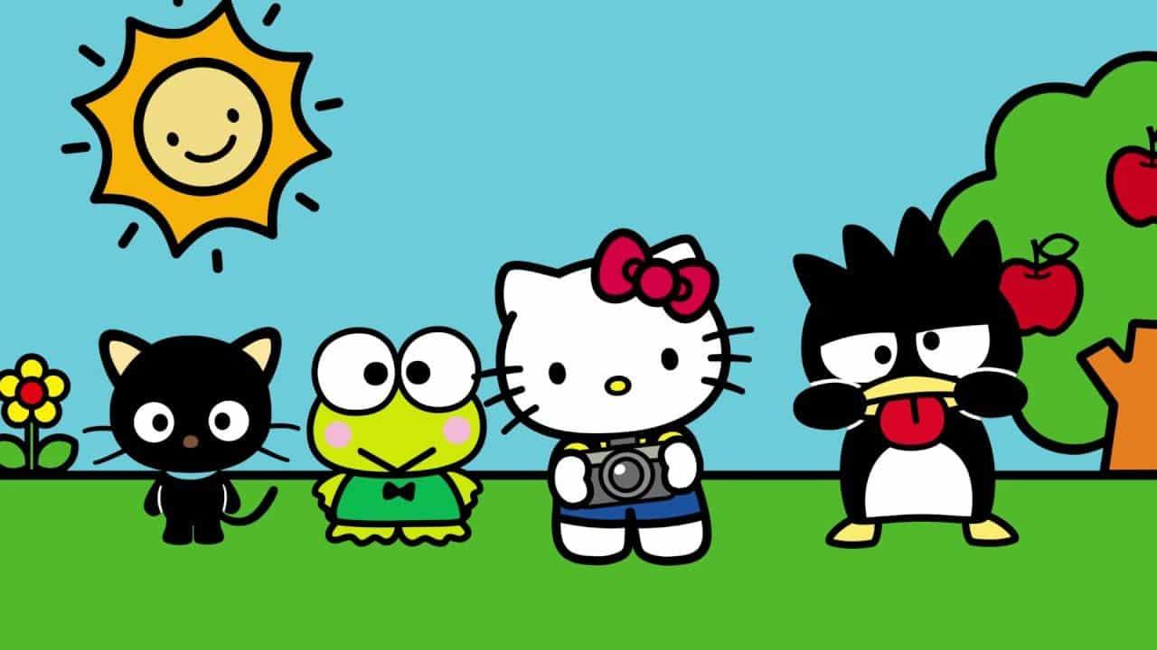 Fotografia da Hello Kitty para ilustração do item
