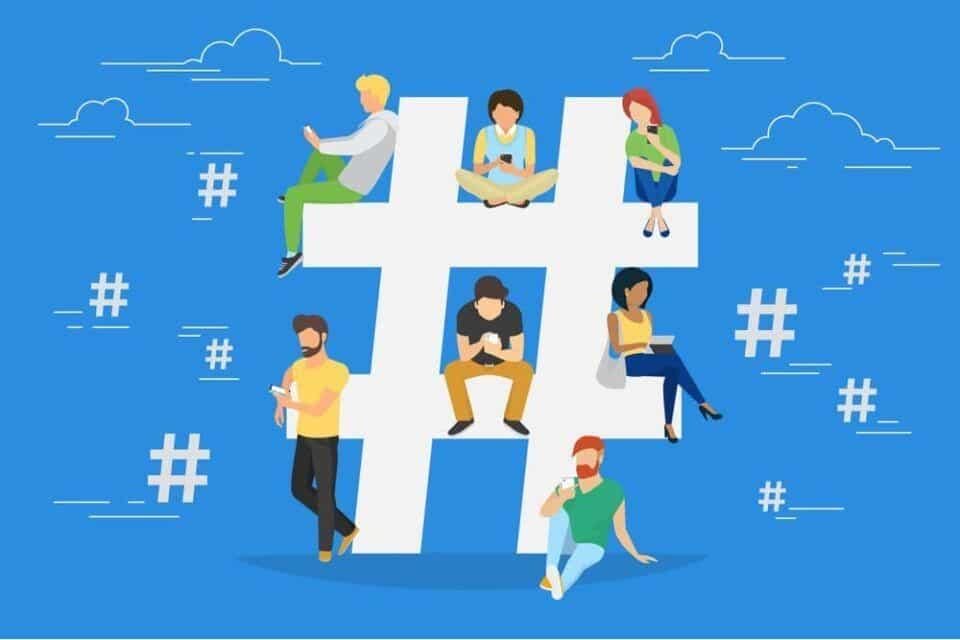 Hashtags mais usadas – Quais são e o que significam
