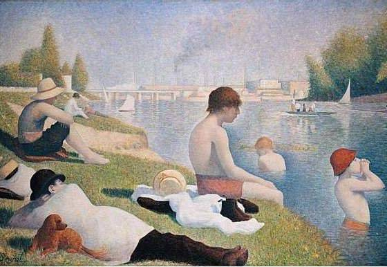 Obra pós-impressionista de Seurat