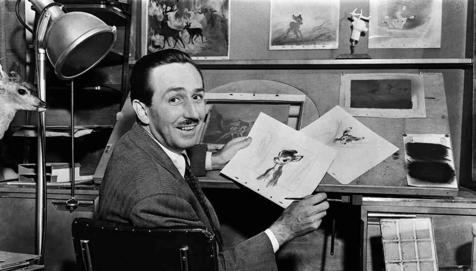 Fotografia do Walt Disney