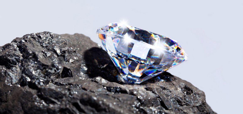 Foto de uma diamante para ilustração do item