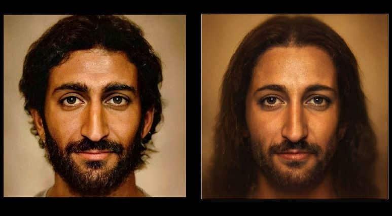 Rosto de Cristo - como a representação se transformou durante a história