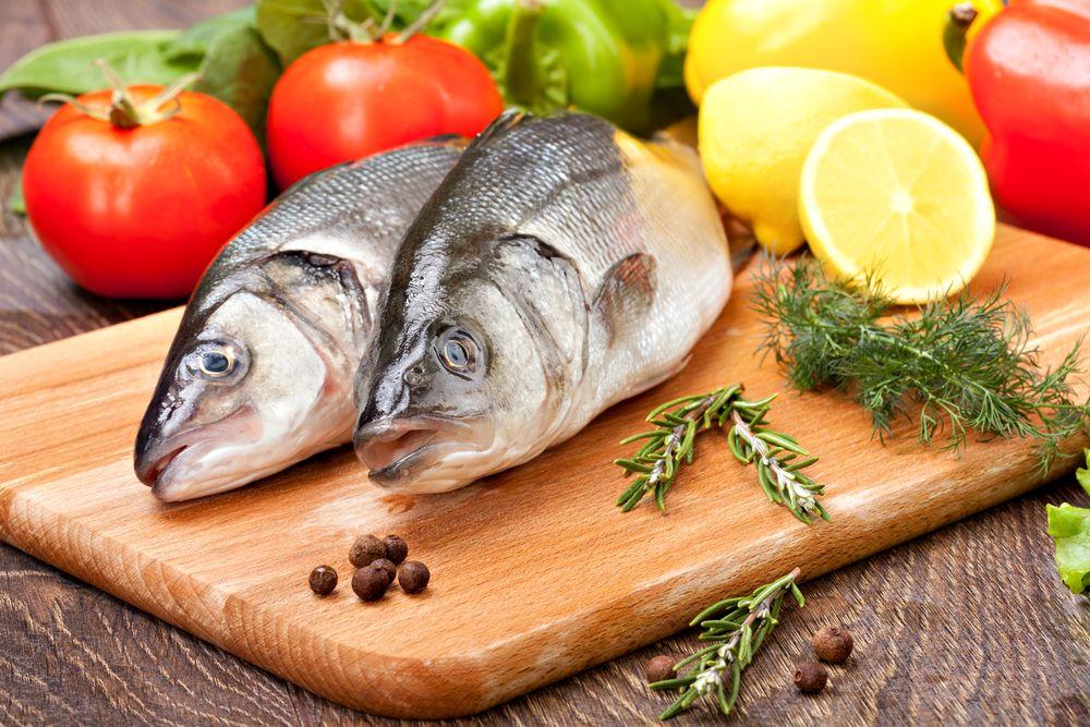 Fotografia de peixes para ilustração do item