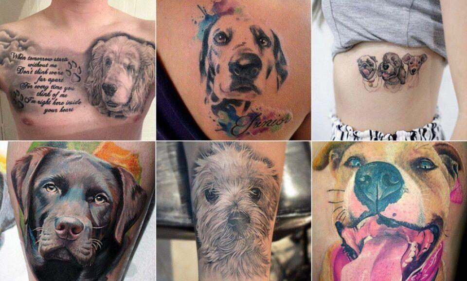 Tatuagem de cachorro – Modelos incríveis para se inspirar