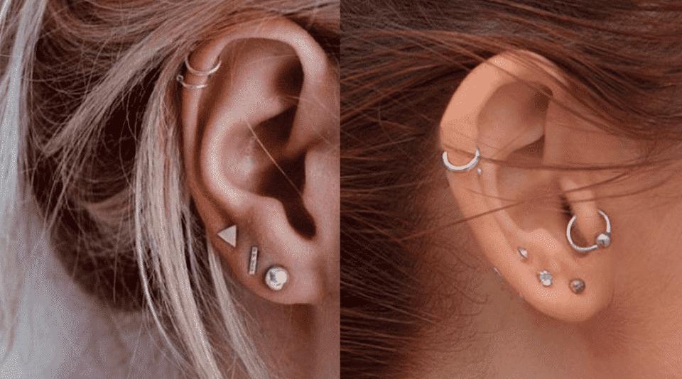 Tipos de piercing na orelha – Quais são e onde usá-los