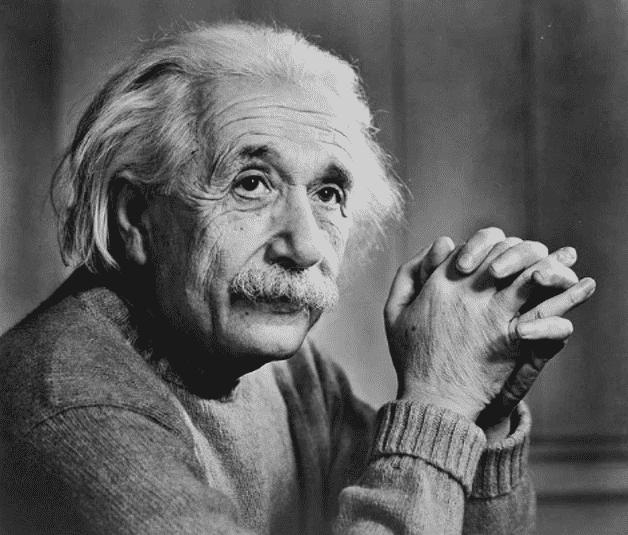 Fotografia do físico alemão para ilustração do item