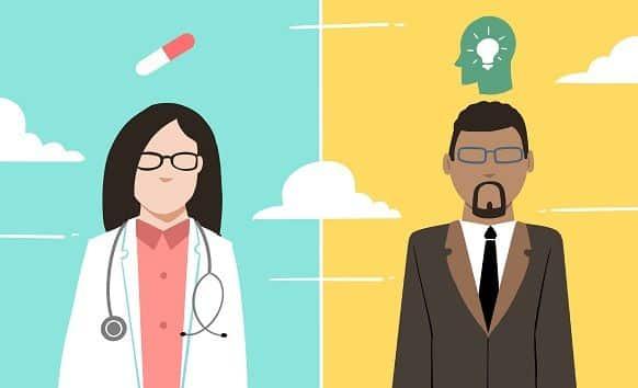 Diferença entre psicólogo e psiquiatra - qual tratamento escolher?