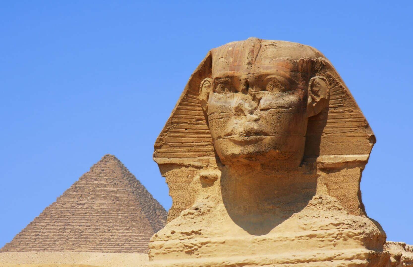 Esfinge de Gizé - história do famoso monumento sem nariz