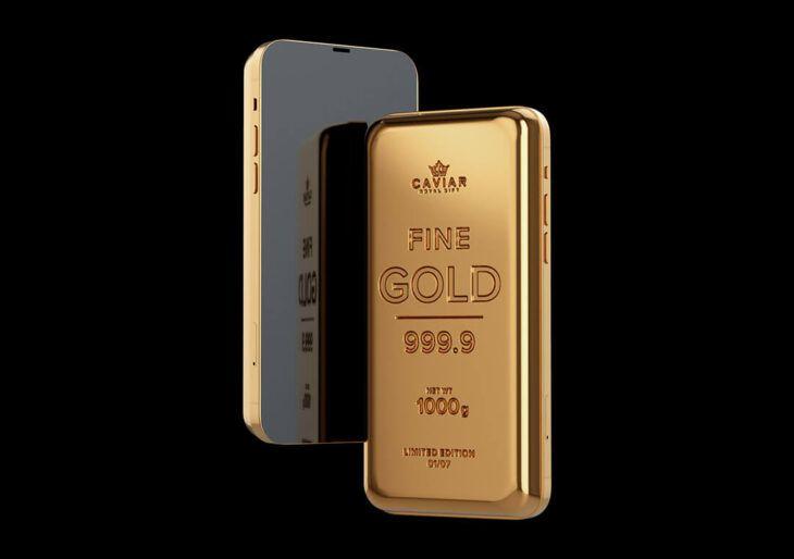 iPhone de Ouro - versão de luxo custa 40 vezes o preço da tradicional