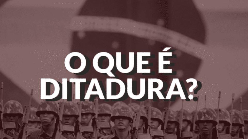 O que é uma ditadura? Como funciona, origem e principais características